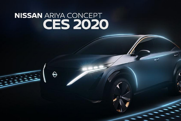 2020CES 日产汽车展示未来出行新技术