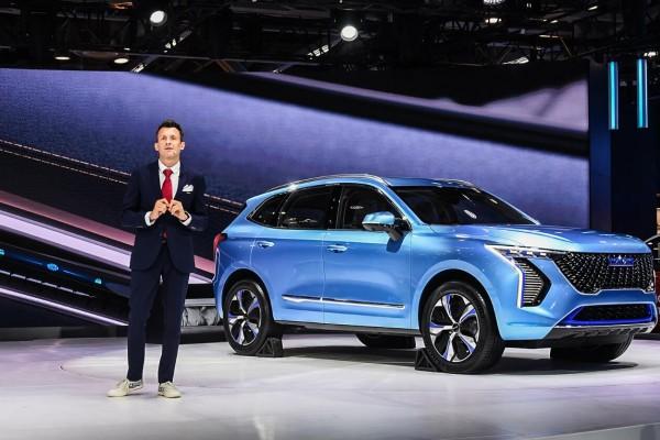 2020德里车展:长城Concept H概念车全球首发长