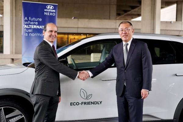 现代汽车与美国政府扩大合作 提供NEXO燃料电池