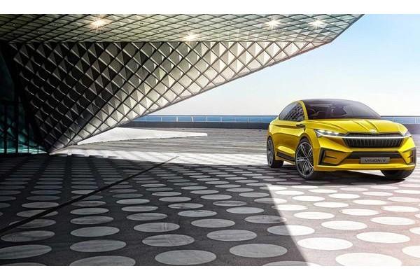继大众之后斯柯达推出首款纯电动SUV 比大众ID.4