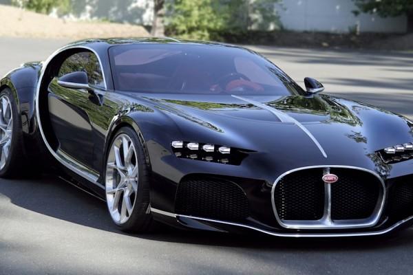 V8布加迪 Atlantic概念车官图发布