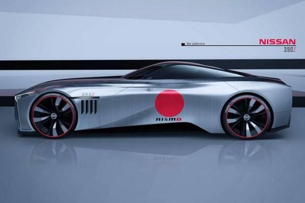 全新一代日产370Z跑车-大尺寸GT设计风格