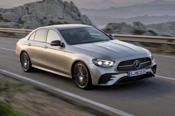 优雅为运动让路 奔驰中期改款E级轿车全球首发