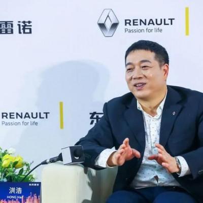 东风雷诺副总裁洪浩离职