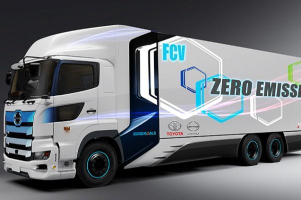丰田与日野合作研发重型燃料电池卡车 续航里程