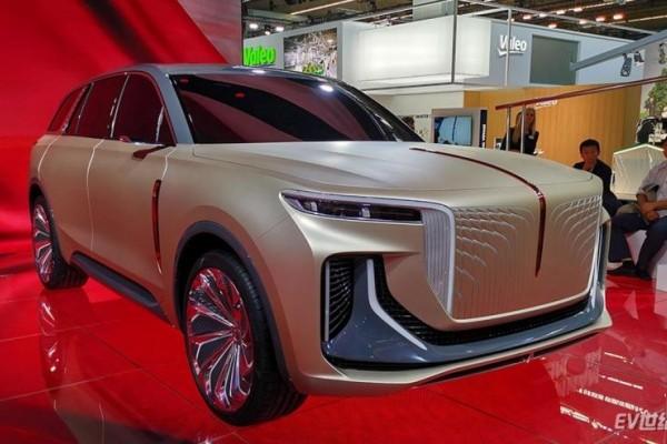 红旗纯电动SUV详细信息曝光 续航600km/2021年量