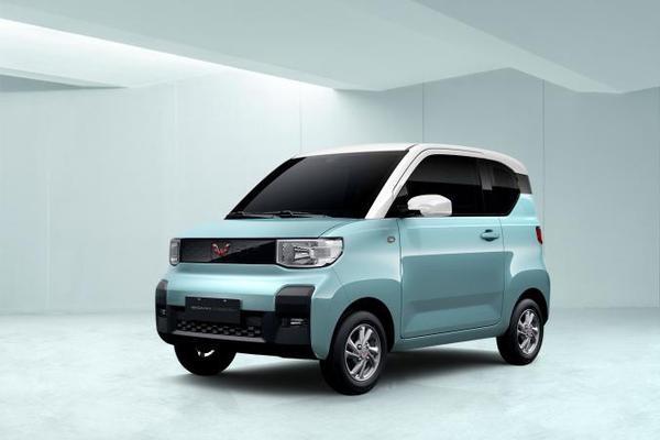 小巧玲珑 五菱全新纯电动微型车内饰官图发布