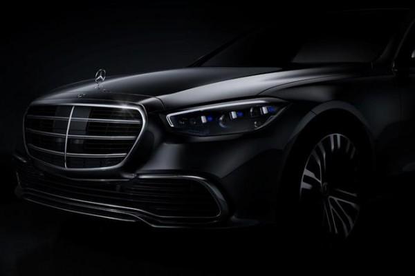 全新第7代奔驰S级首张官图发布 戴姆勒CEO亲自站