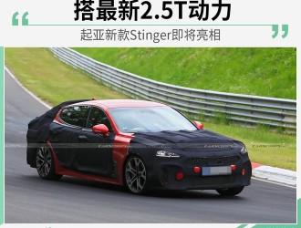 搭2.5T动力 起亚新款高性能轿跑Stinger将亮相