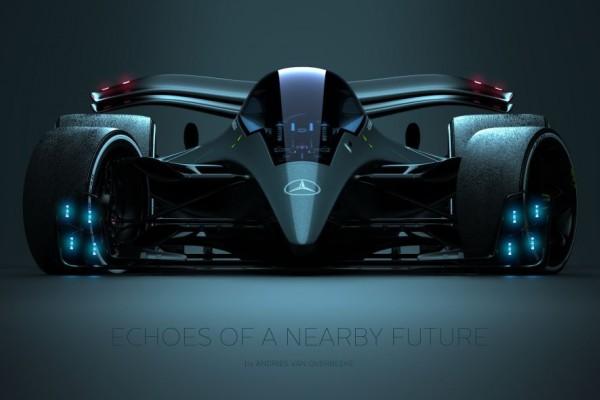 飞得太低 F1概念赛车增加战斗机气泡玻璃风挡
