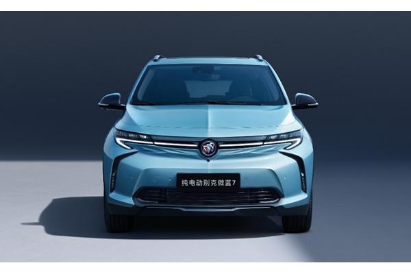 全新别克纯电动SUV微蓝7官图发布 续航500公里