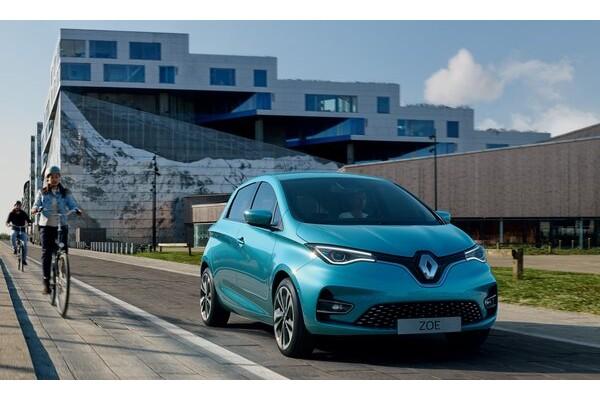雷诺Zoe成上半年欧洲最畅销电动汽车