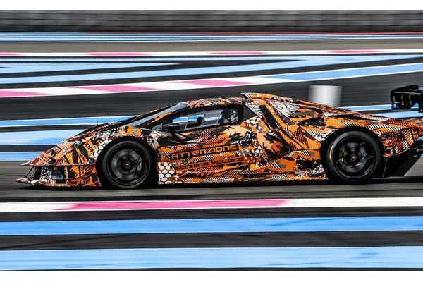 搭最强V12发动机 兰博基尼限量版赛车预告图曝光