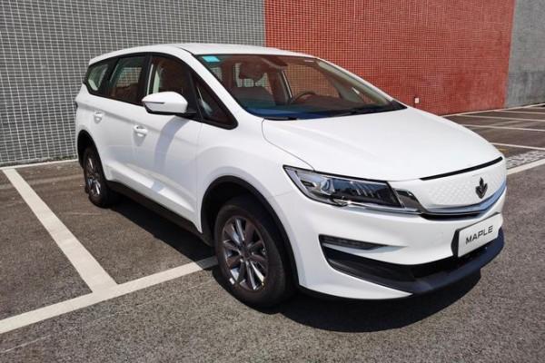枫叶汽车新MPV车型定名枫叶80V 将搭载换电技术