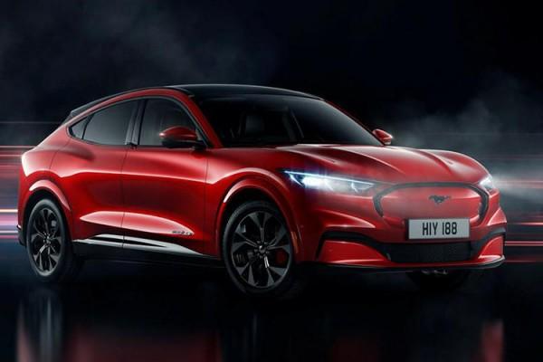 NEDC续航600公里 福特Mustang Mach-E北京车展首