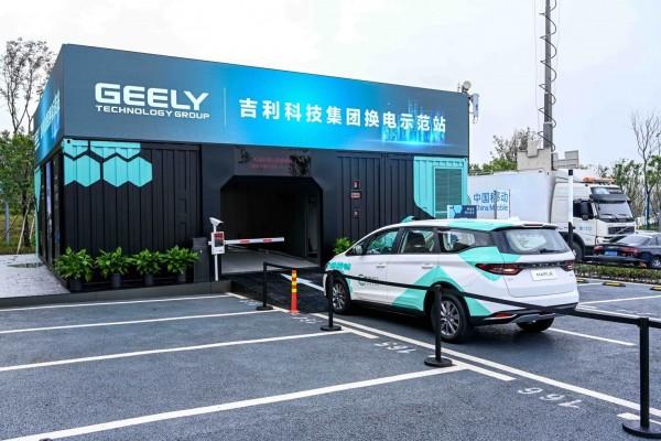 吉利入局换电模式 2020年计划在重庆建35座换电