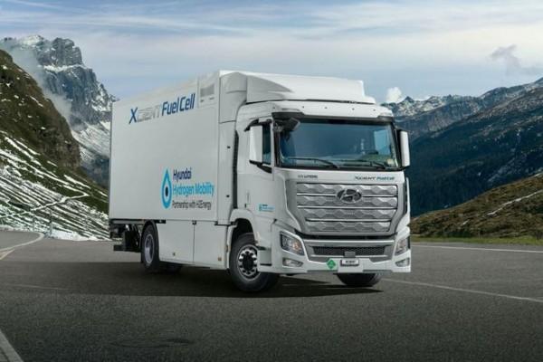 现代Xcient燃料电池卡车成功交付 2022年进军中