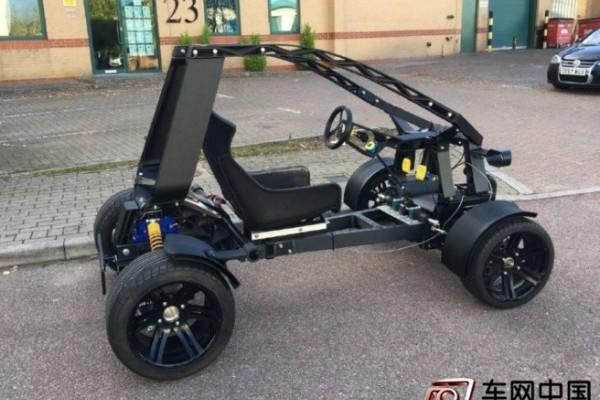 """欧洲首款3D打印汽车""""Chameleon""""亮相 时速可达"""