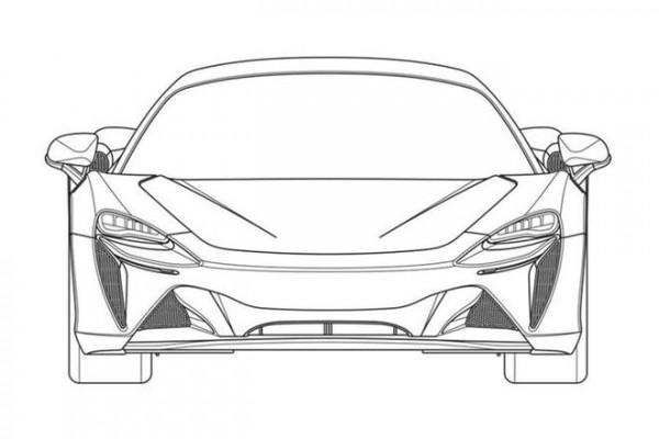 迈凯轮混合动力超级跑车专利曝光 计线索借鉴720S和GT