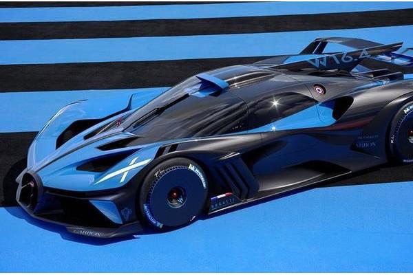 布加迪发布最新超跑Bolide 挑战世界速度记录