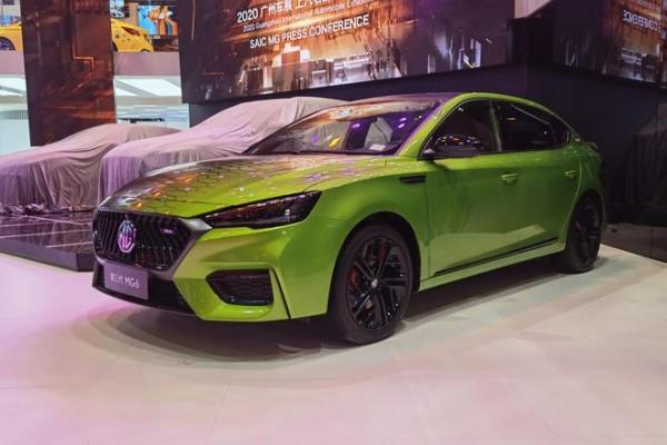 2020广州车展探馆:第三代MG6数字曼巴限量版亮