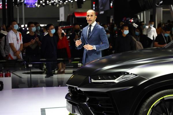2020广州车展:兰博基尼Urus哑光漆特别版及Hura