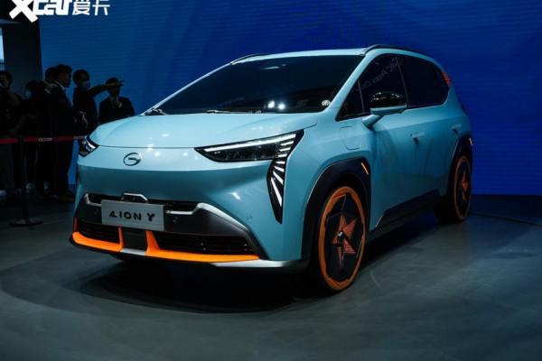 广汽埃安Y于明年上半年上市 紧凑型SUV