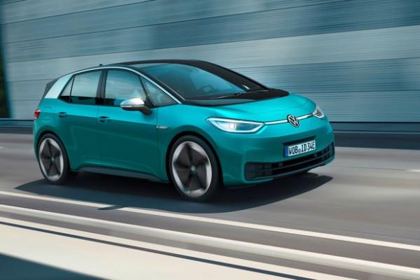 大众ID.3成10月欧洲销量最高电动汽车