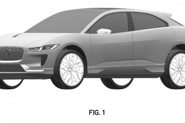 外观细节微调/增新配色 新款捷豹I-PACE专利图