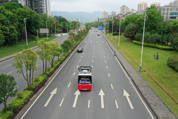 中国首个自动驾驶公交车收费示范运营项目落地重