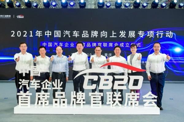 中国汽车品牌的力量