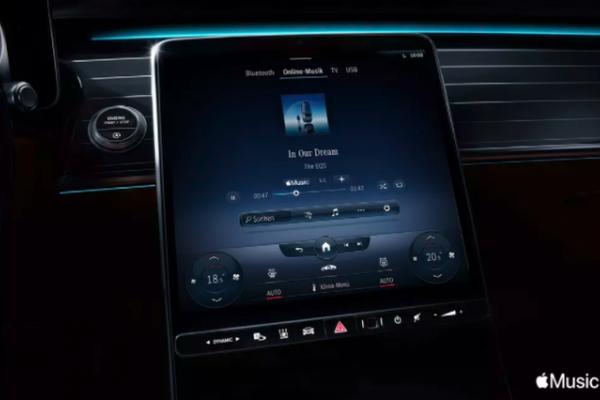 苹果Apple Music将集成到奔驰MBUX车载娱乐系统
