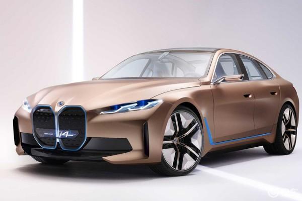 宝马i4轿车发布,着力打造基于EV的宝马风格驾驶
