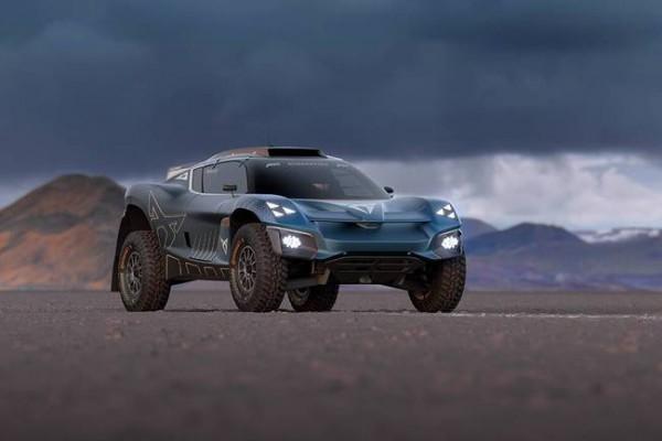 新款越野概念车Tavascan Extreme E