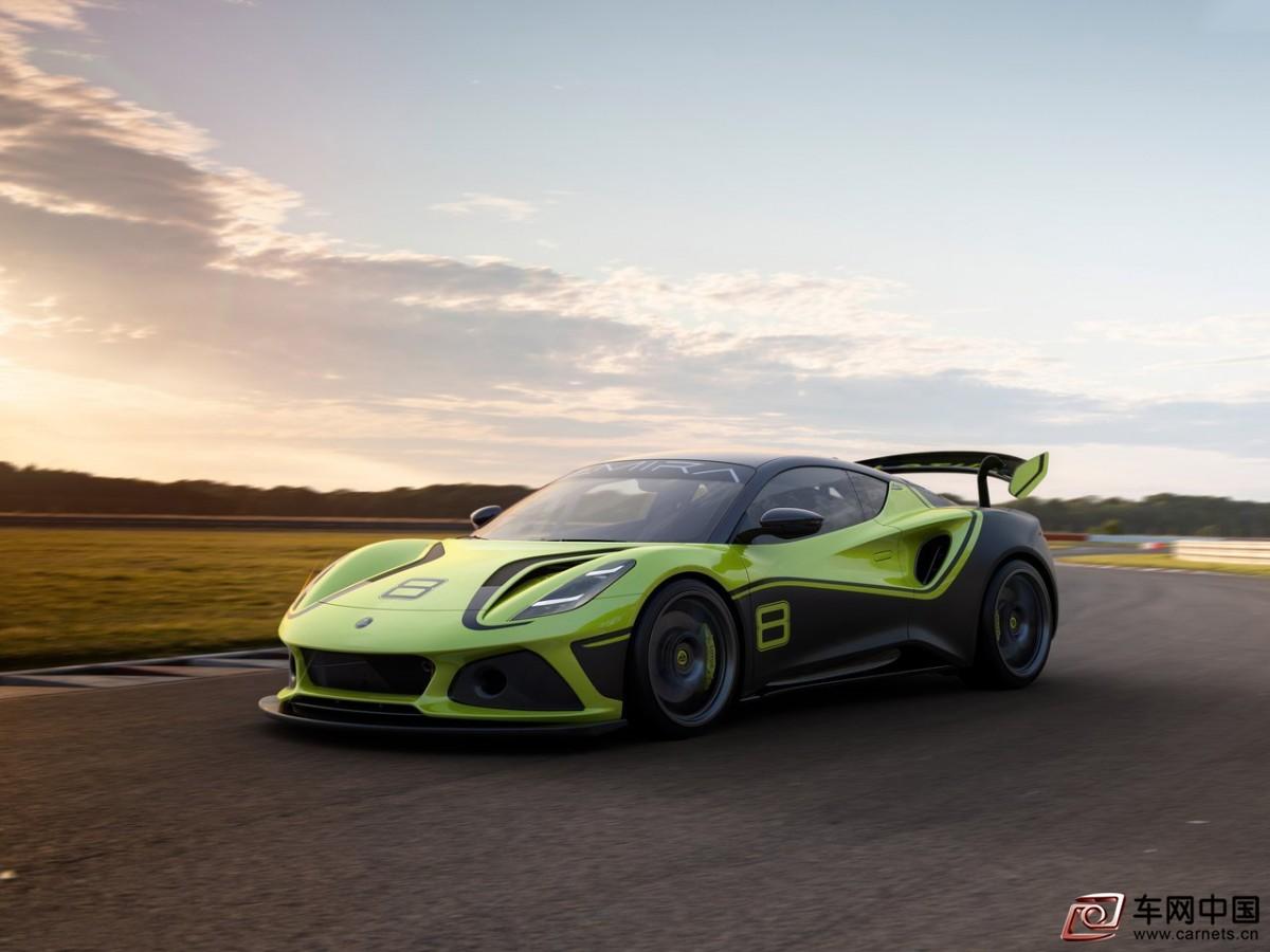 路特斯Emira GT4概念赛