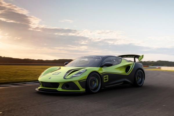 路特斯Emira GT4概念赛车首次亮相